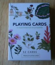 2020 New Deck Of Botanical Playing Cards