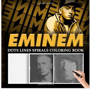 Eminem Dots Lines Spirals Waves Coloring Meditation Anti-Stress Creative Gift