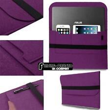 "Wool Felt Sleeve Case BAG For 10"" 11"" 12"" ASUS Tablet Chromebook Laptop Notebook"