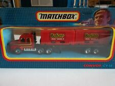 Matchbox Convoy CY18 Scania Double Container Truck BEEFEATER - Mint in Box