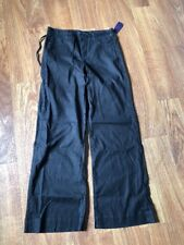 NYDJ Women's  Casual Pants, size 6,  black,  linen, spandex, other