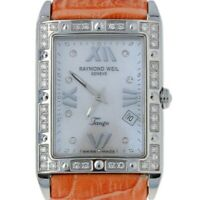 Raymond Weil Tango Diamond Ladies Watch Stainless Steel Quartz 2Yr. Wnty 5981