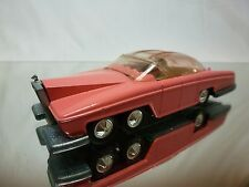 DINKY TOYS 100 ROLLS ROYCE LADY PENELOPE'S FAB 1 THUNDERBIRDS - PINK - EXCELLENT