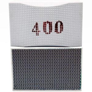 LXDIAMOND Diamant Hand-Schleifpad Schleifklotz Körnung 400 Feinsteinzeug Fliesen