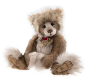 Donalda by Charlie Bears - jointed plush plumo limited edition teddy - CB212107B