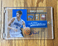 2012-13 NIKOLA VUCEVIC ELITE #83 AUTOGRAPH ROOKIE CLEAR CARD RC, ORLANDO MAGIC🔥