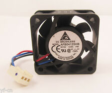 1pc DELTA AFB0412SHB 12V 0.35A DC Fan 40x40x15mm 4015 3wire High Speed 14.8CFM