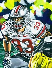 James Laurinaitis Ohio State Painting signed St. Louis Rams