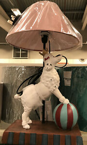 One Poodle Dog Lamps Brand New Last Two