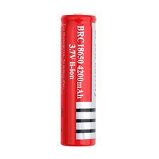 New 4200mAh 18650 3.7V Li-ion Rechargeable Battery for Flashlight FL