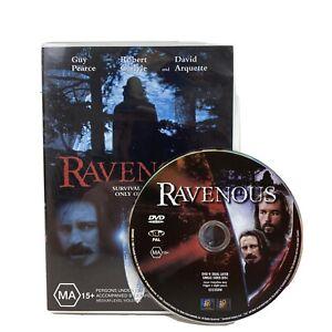 Ravenous DVD Region 4 PAL VGC + Free Postage