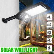 36 LED Luz Solar Wall Street Sensor De Movimiento Infrarrojo Pasivo Impermeable Al Aire Libre Jardín Lámpara