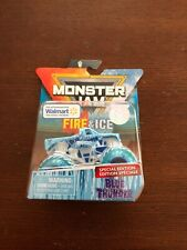 Monster Jam Fire & Ice Special Edition Walmart BLUE THUNDER