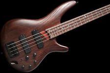 Ibanez SR600 4 String Bass Guitar Walnut Flat no case