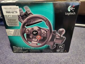 Logitech Driving Force GT Racing Wheel Steering Wheel and Pedals -  PS3 / PC