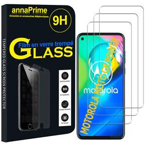 "3 Films Verres Trempés Protecteur Écran Motorola Moto G8 Power 6.4"" XT2041-1"