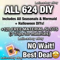 Full All Complete 624 DIY RECIPES ✨Bonus Gifts ✨Animal Corssing Horizons ONLINE