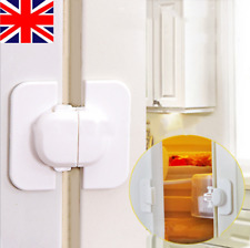 Refrigerator Fridge Freezer Door Lock Latch Catch for Toddler Child Safety UK