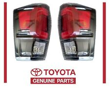 Genuine Toyota Tacoma 2017 TRD PRO Left & Right Rear Tail Lights OEM OE