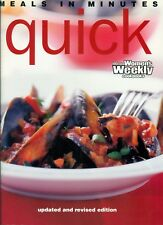 Women's Weekly - MEALS IN MINUTES QUICK - SC - LIKE NEW CONDITION