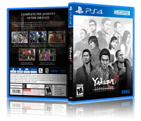Yakuza 5: Remastered Collection- Custom PS4 Cover and Case. NO GAME!!