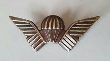 More details for original rhodesian selous scouts wings, numbered badge.