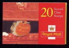 Gb 1995 Christmas Robin Cylinder Booklet Lx10