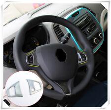 For Renault Captur 2013-2018 Steering Wheel Trim Decorative Cover Frame Trim