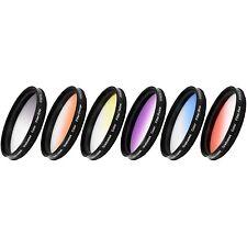 Vivitar 6-Piece Multi-Coated Rotating Graduated Color Filter Set (52mm)...