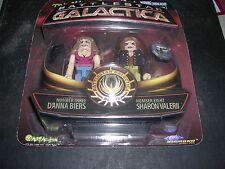 Battlestar Galactica MiniMates D'Anna Biers & Sharon  Valerii