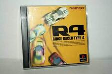 R4 RIDGE RACER TYPE 4 GIOCO USATO OTTIMO PSX PSONE EDIZIONE JAPAN FR1 37600