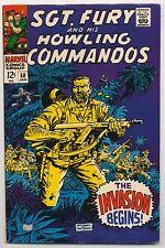 Sgt. Fury & His Howling Commandos #50 (1968) Very Fine Minus (7.5) ~ Marvel