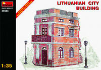 LITHUANIAN CITY BUILDING WWII WARTIME MODEL KIT MIN35504 - Miniart 1:35 SCALE