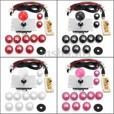 DIY Arcade Game Machine USB Encoder PC Joystick Push Buttons Replacement Kits