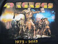 Kansas 40 Years 1973-2013 - Men's Medium Black T-Shirt