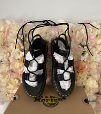 Dr Martens Leather Lace Up Nartilla Sandals, UK 7, BRAND NEW, Discontinued, RARE