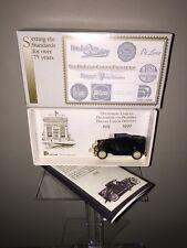 1927 Essex Coupe Conversion Deluxe Bank Checks 75th Anniversary Scale Model