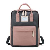 Girl Handbag Bolso femenino Mochila de mujer Mochila escolar de lona para niñas