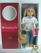 NEW IN BOX American Girl Julie Albright DOLL and Accessory Set