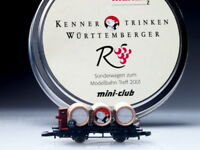 "82174 Marklin Z-scale ""Wurttemberger Wein"" Car 2001 Sp.Ed."