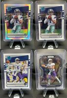 Ben DiNucci optic rated rookie Silver prizm Lot*