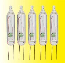 Viessmann 6231 Light Bulbs Lamps Clear T1 3/4, Ø 5 mm, 12 V,95 mA ,5 PCS # NIP #