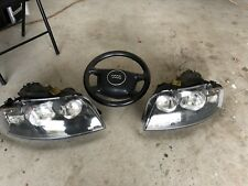 Audi A3 8P Right And Left Halogen Headlights And Steering Wheel + airbag