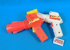 Lot of 2 Vintage 1950's Norton Honer Laser Ray Guns- White and Red