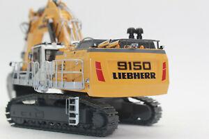 WSI 64 2003 gelb Liebherr R 9150 B Bagger Hydraulikbagger 1:50 Neu + OVP