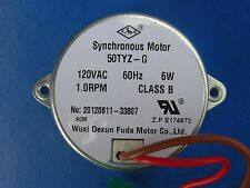 50 TYZ-G / Frigidaire + others ice maker DRIVE MOTOR for electro-mech icemakers