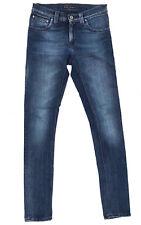 Nudie Jeans 'TIGHT LONG JOHN INDIGO ON BLACK' Jeans W26 L32 EUC RRP $249 Womens