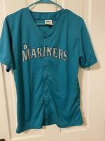Seattle Mariners # 51 Ichiro Button Front Promo Baseball Jersey Youth XL