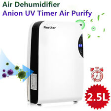 2,5L Luftentfeuchter Entfeuchter Bautrockner Anion UV Raumentfeuchter mit Timer