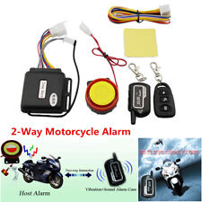 Universal 2-Way Motorcycle Security Alarm Anti-theft Remote Control Engine Start